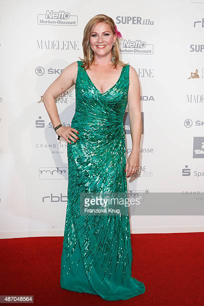 Aleksandra Bechtel attends Madeleine At Goldene Henne 2015 on September 05 2015 in Berlin Germany