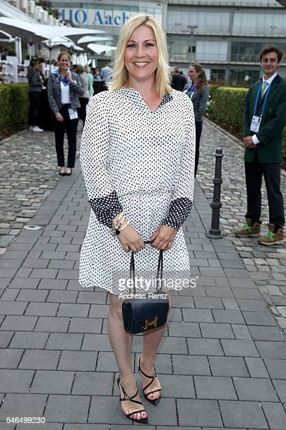 Aleksandra Bechtel attends the media night of the CHIO 2016 on July 12 2016 in Aachen Germany
