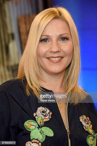 Aleksandra Bechtel attends the RTL Telethon 2017 on November 24 2017 in Huerth Germany