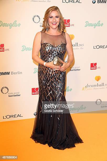Aleksandra Bechtel during the 10th anniversary of 'Dreamball' at Ritz Carlton on September 10 2015 in Berlin Germany