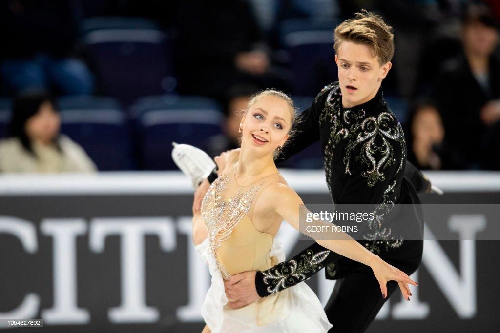 Skating-CANADA-ISU-GRANDPRIX : News Photo