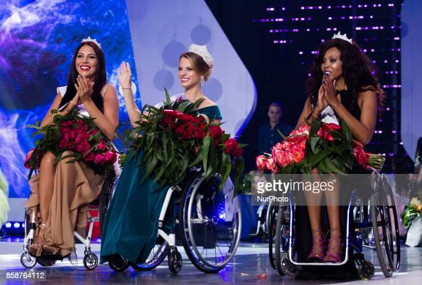 Aleksandra Chichikova first Miss Wheelchair World 2017 in Warsaw The first in the world miss on wheelchairs competitions 07 October Warsaw Poland