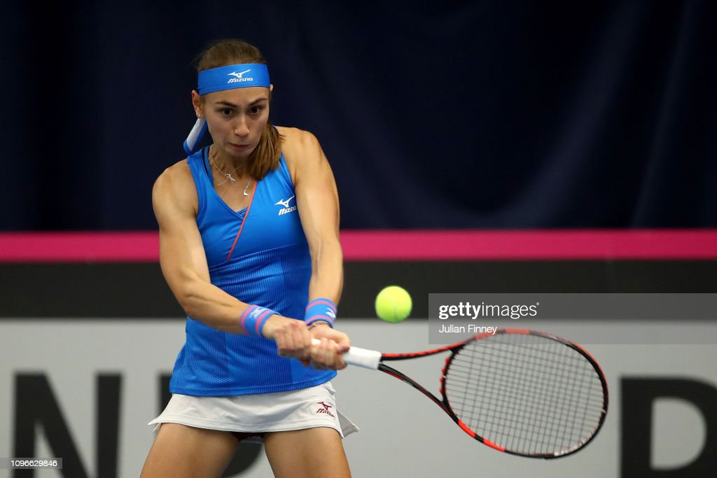 Fed Cup Europe and Africa Zone Group I - Day Four : News Photo