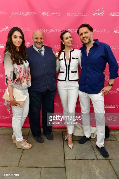 Aleksandra Penkova Raphael Avigdor Natalie Abraham and David Hakimian attend AVENUE on the Beach Celebrates Sailor Brinkley Cook And Our May/June...