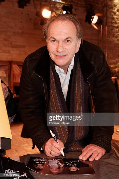 Aleksei Guskov meets fans before the tribute to Robert Hossein during Russian Film Festival on November 25 2016 in Honfleur France