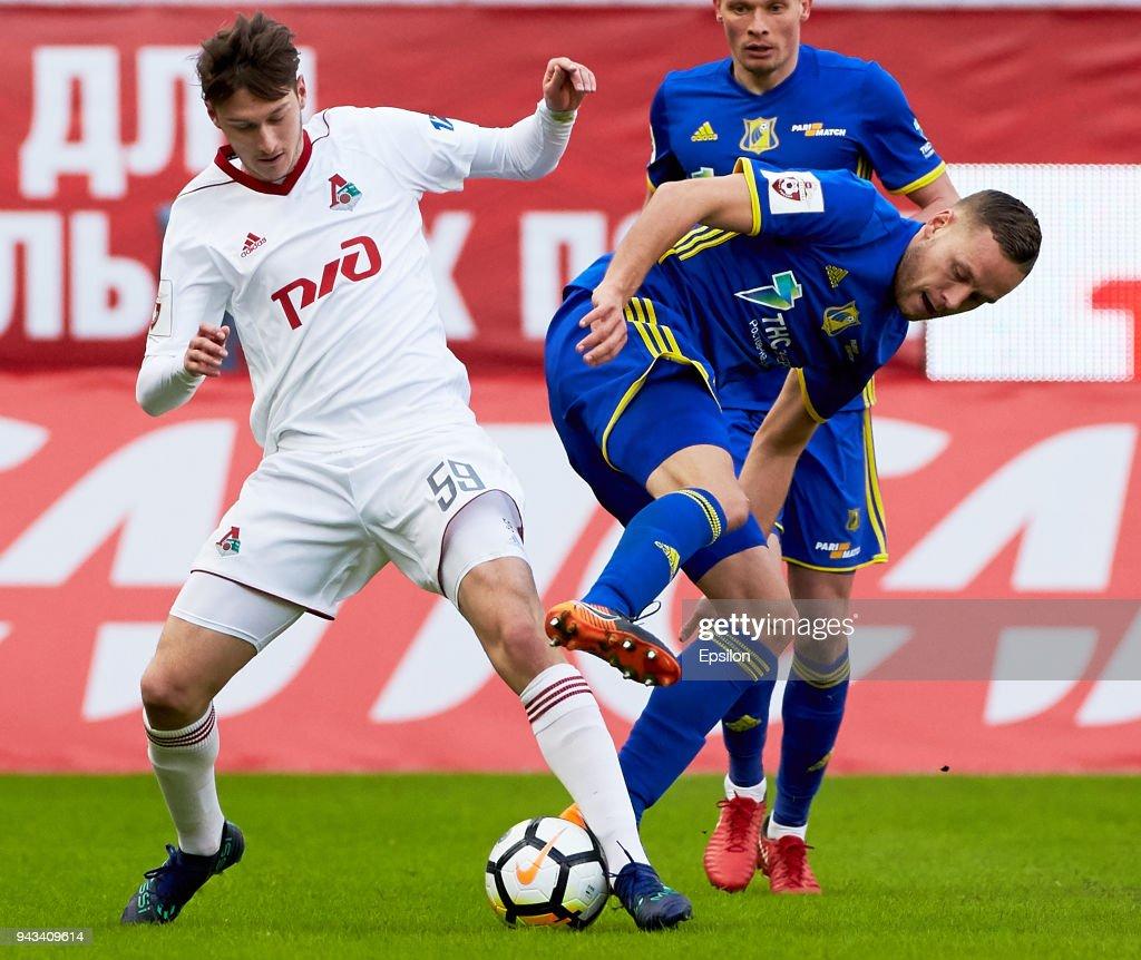 FC Lokomotiv Moscow vs FC Rostov Rostov-on-Don - Russian Premier League