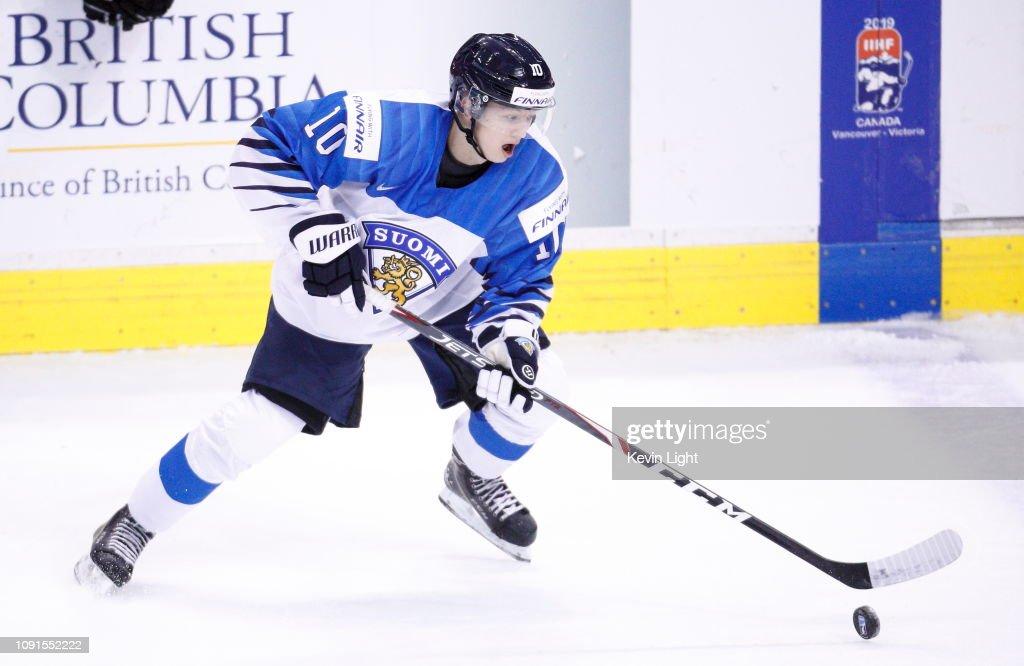 Switzerland v Finland: Semifinals - 2019 IIHF World Junior Championship : News Photo