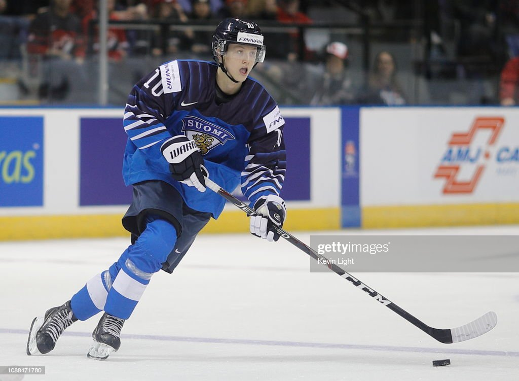 Finland v Kazakhstan - 2019 IIHF World Junior Championship : News Photo