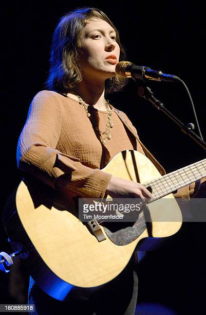 Alela Diane performs at The Uptown Theatre on February 6 2013 in Napa California