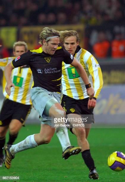 Alemania Aachen's Sascha Rsler in action