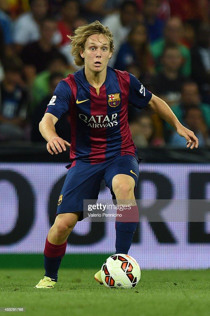FC Barcelona v SSC Napoli - Preseason Friendly