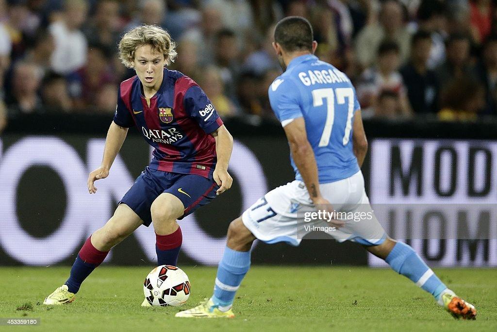 """Friendly - """"Napoli v FC Barcelona"""" : News Photo"""