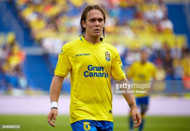 Alen Halilovic of Las Palmas looks on during the La Liga match between Las Palmas and Athletic Club at Estadio Gran Canaria on September 17 2017 in...