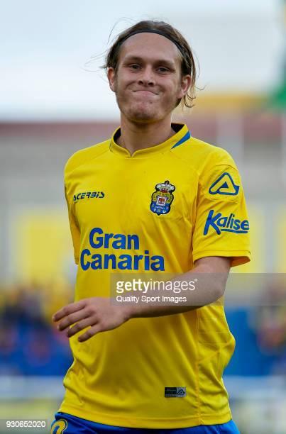 Alen Halilovic of Las Palmas reacts during the La Liga match between Las Palmas and Villarreal at Estadio Gran Canaria on March 11 2018 in Las Palmas...