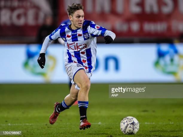 Alen Halilovic of sc Heerenveen during the Dutch Eredivisie match between FC Twente Enschede and sc Heerenveen at De Grolsch Veste Stadium on...