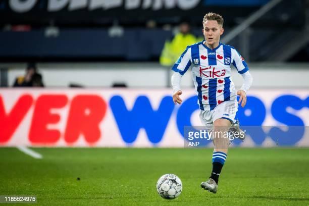 Alen Halilovic of sc Heerenveen during the Dutch Eredivisie match between sc Heerenveen and Vitesse Arnhem at Abe Lenstra Stadium on November 09,...