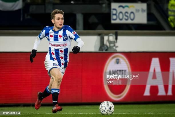 Alen Halilovic of sc Heerenveen during the Dutch Eredivisie match between sc Heerenveen and Ajax Amsterdam at Abe Lenstra Stadium on March 07, 2020...