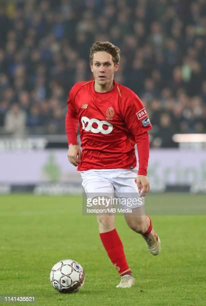 Alen Halilovic of Standard in action during the Jupiler Pro League play-off 1 match between Club Brugge and Standard de Liege at Jan Breydel Stadium...