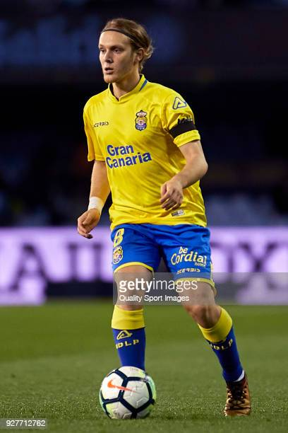Alen Halilovic of UD Las Palmas in action during the La Liga match between Celta de Vigo and Las Palmas at Estadio Balaidos on March 5 2018 in Vigo...