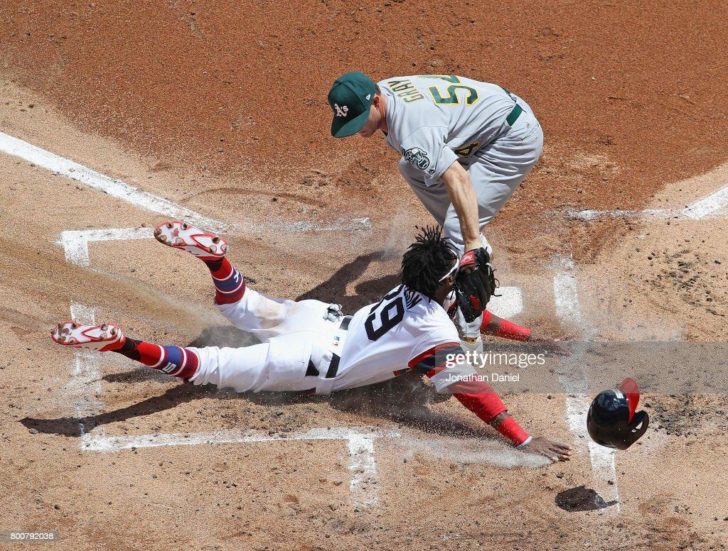 Oakland Athletics v Chicago White Sox : Nieuwsfoto's