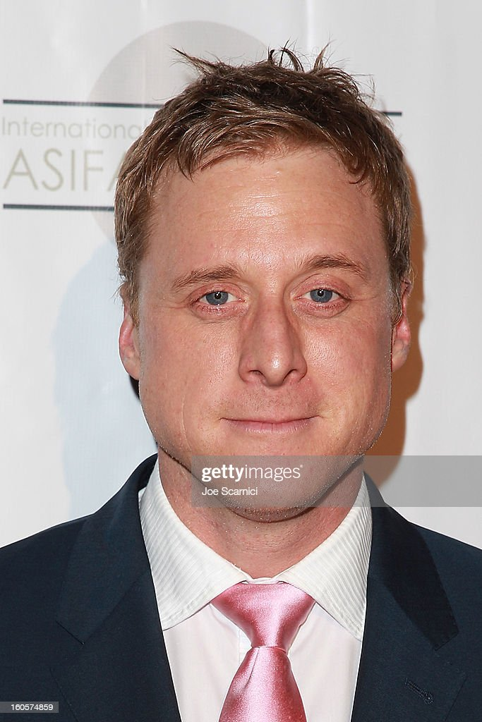 Alen Tudyk arrives at the 40th Annual Annie Awards at Royce Hall on the UCLA Campus on February 2, 2013 in Westwood, California.