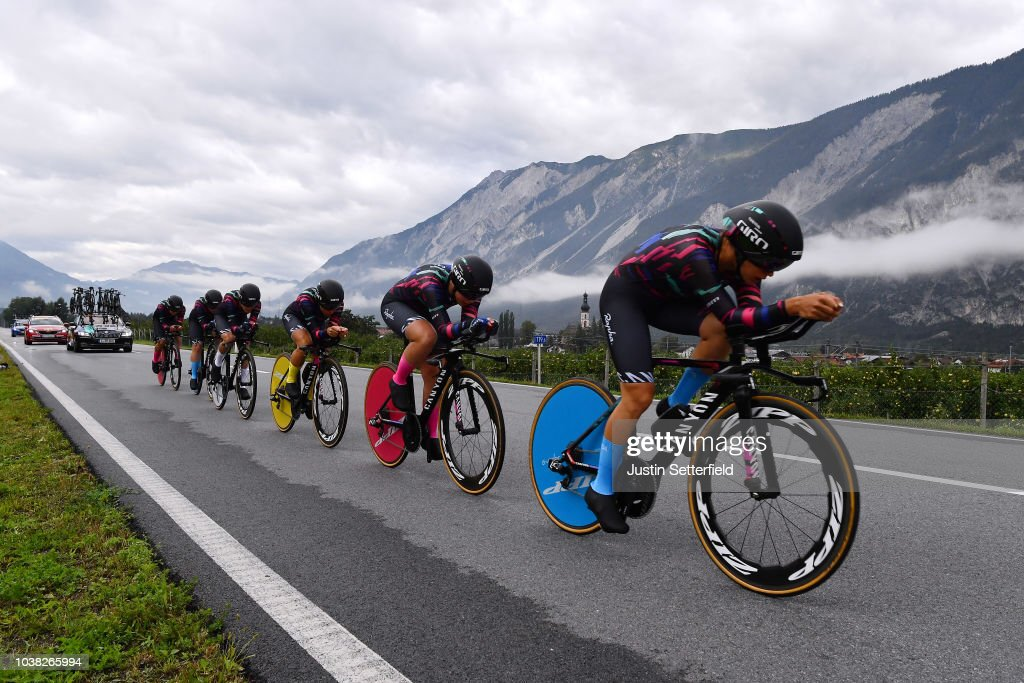 Cycling: 91st UCI Road World Championships 2018 / UCI Team Time Trial Women : ニュース写真