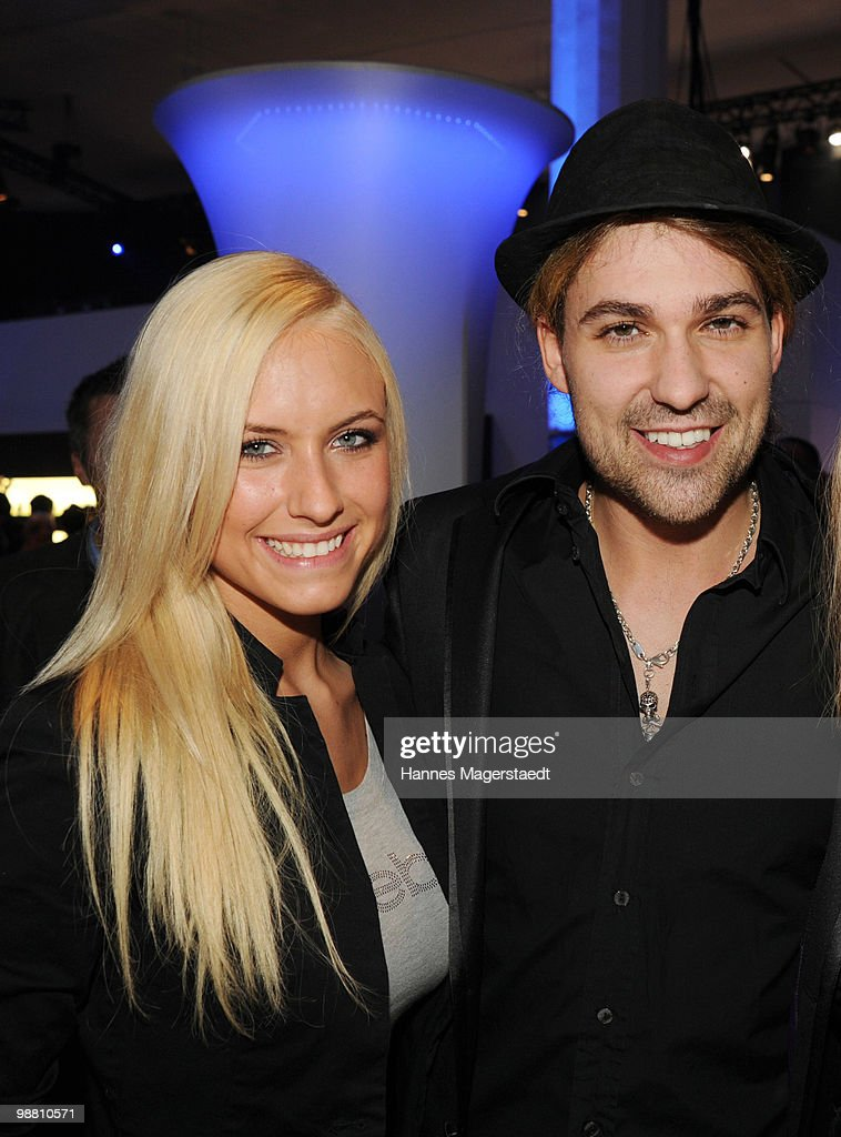 Alena Gerber and David Garett attend the Touareg World Premiere at the Postpalast on February 10, 2010 in Munich, Germany.