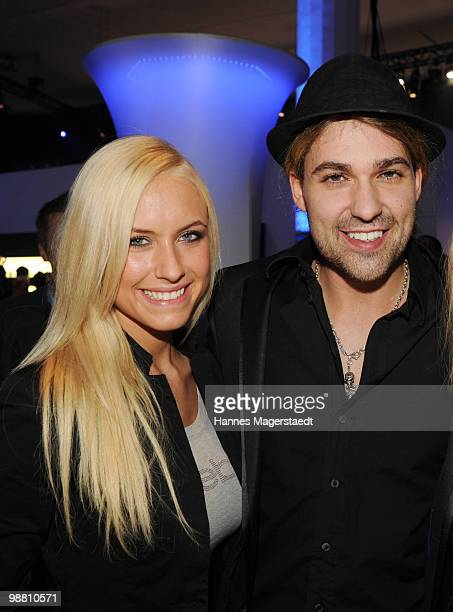 Alena Gerber and David Garett attend the Touareg World Premiere at the Postpalast on February 10 2010 in Munich Germany