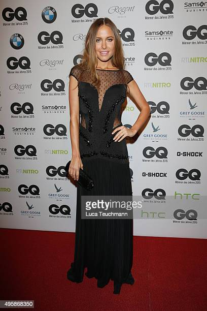 Alena Gerber arrives at the GQ Men of the year Award 2015 at Komische Oper on November 5 2015 in Berlin Germany