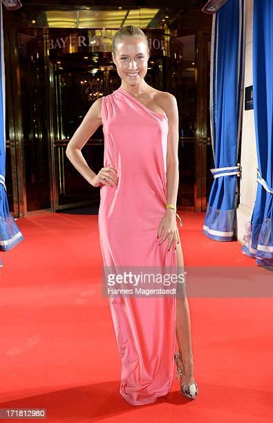 Alena Gerber attends Munich Film Festival 2013 Opening at the Hotel Bayerischer Hof on June 28 2013 in Munich Germany