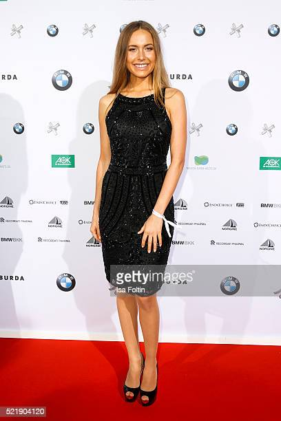 Alena Gerber attends the Felix Burda Award 2016 on April 17 2016 in Munich Germany