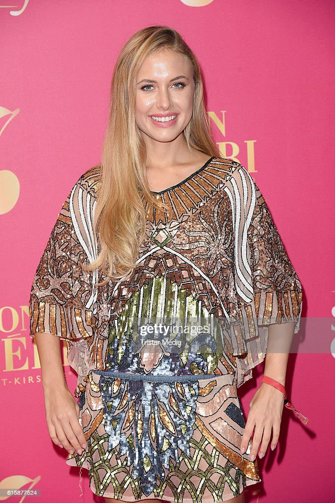 Alena Gerber Attends The Mon Cheri Sweet Cherry Night On October 20