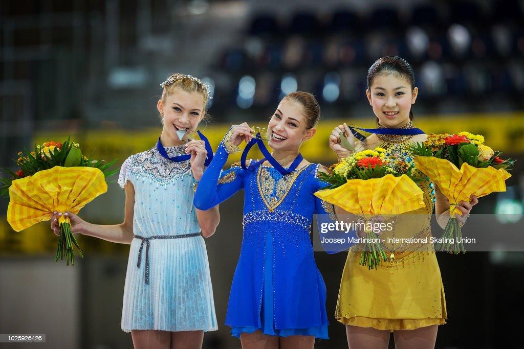 ISU Junior Grand Prix of Figure Skating - Linz : News Photo