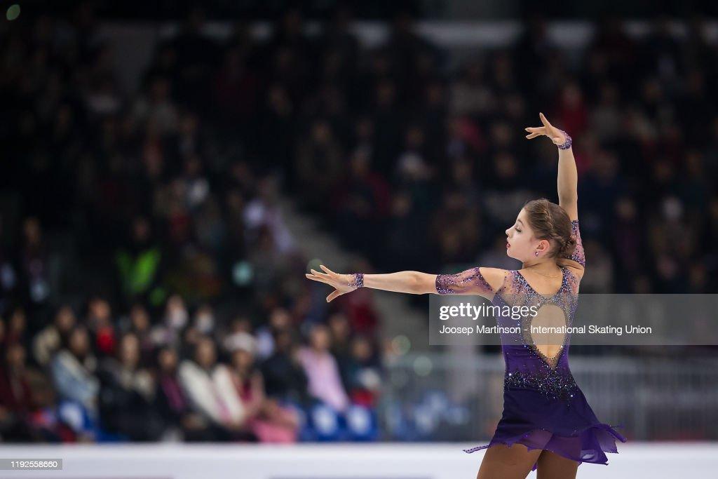 ISU Grand Prix of Figure Skating Final Senior & Junior : ニュース写真