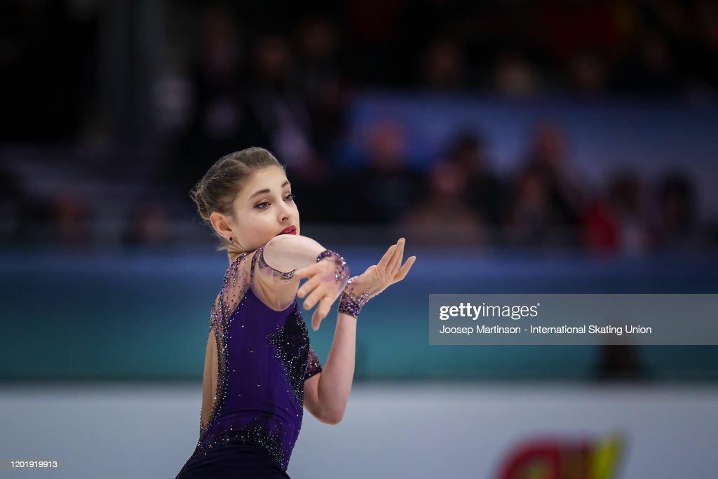 ISU European Figure Skating Championships - Graz : News Photo