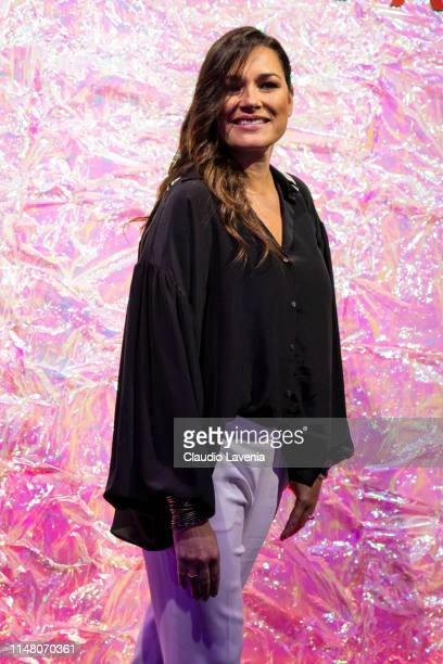 Alena Seredova attends during the Huawei Fashion Flair event on May 09 2019 in Milan Italy