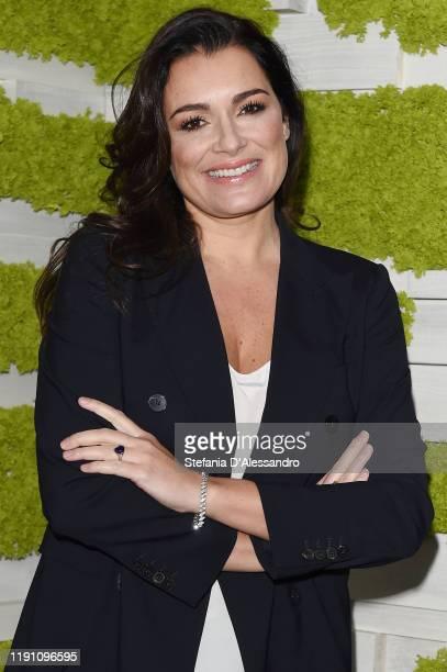 Alena Seredova attends Le Parole Della Settimana tv show on November 30 2019 in Milan Italy