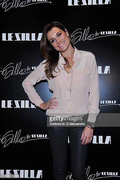 Alena Seredova attends Le Silla Presentation during Milan Fashion Week Womenswear Fall/Winter 2013/14 on February 23, 2013 in Milan, Italy.