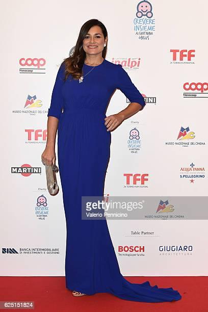 Alena Seredova attends 'Premio Cabiria' gala dinner during the 34 Torino Film Festival on November 22 2016 in Turin Italy
