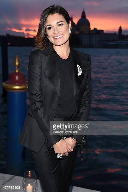 Alena Seredova attends the Venetian Heritage And Bulgari Gala Dinner at Cipriani Hotel on May 9, 2015 in Venice, Italy.