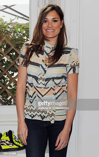 Alena Seredova attends the Vicini - Presentation as part of Milan Fashion Week Womenswear Autumn/Winter 2011on February 25, 2011 in Milan, Italy.