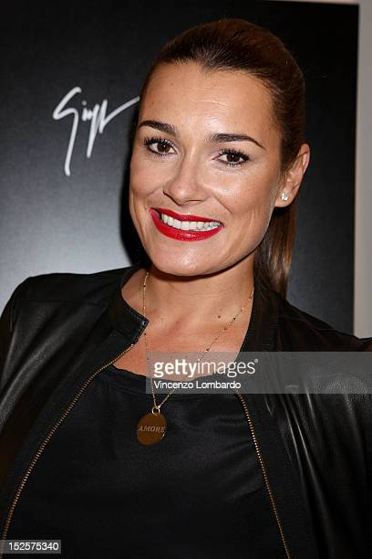 Alena Seredova attends Vicini Presentation as part of Milan Fashion Week Womenswear Spring/Summer 2013 on September 22 2012 in Milan Italy