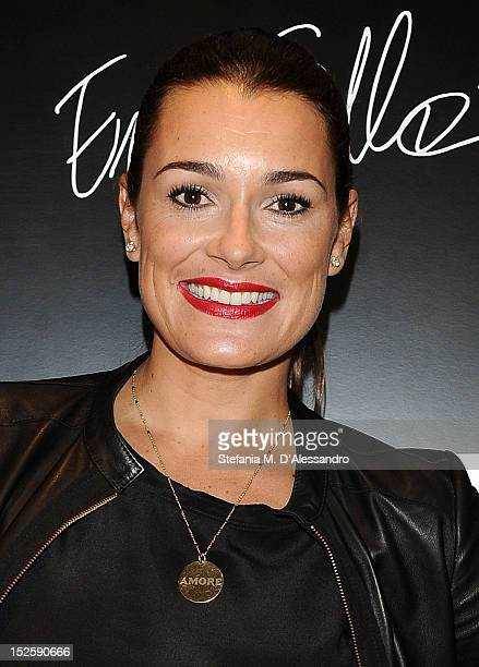 Alena Seredovaattends Le Silla Press Day as part of Milan Fashion Week Womenswear S/S 2013 on September 22, 2012 in Milan, Italy.