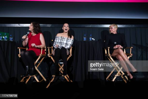 Alena Smith Hailee Steinfeld and Jane Krakowski attend the Dickinson screening during the 2019 Tribeca TV Festival at Regal Battery Park Cinemas on...
