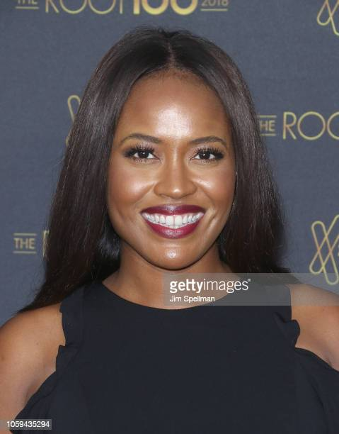 Alencia Johnson attends the 2018 The Root 100 gala at Pier Sixty at Chelsea Piers on November 8 2018 in New York City