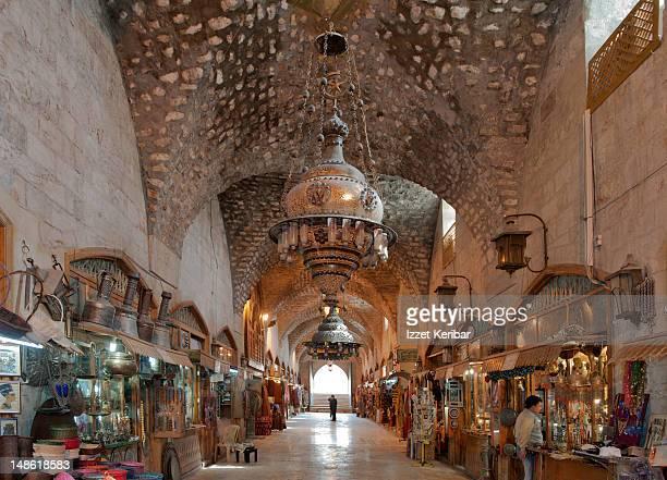 Aleppo Bazaar.