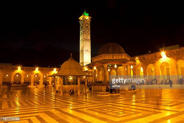 aleppo mosque - aleppo stock pictures, royalty-free photos & images
