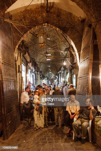 aleppo souks - aleppo stock pictures, royalty-free photos & images