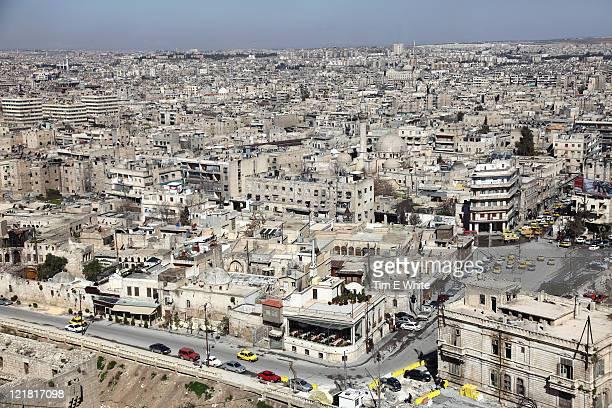 Aleppo Syria viewed from Citadel