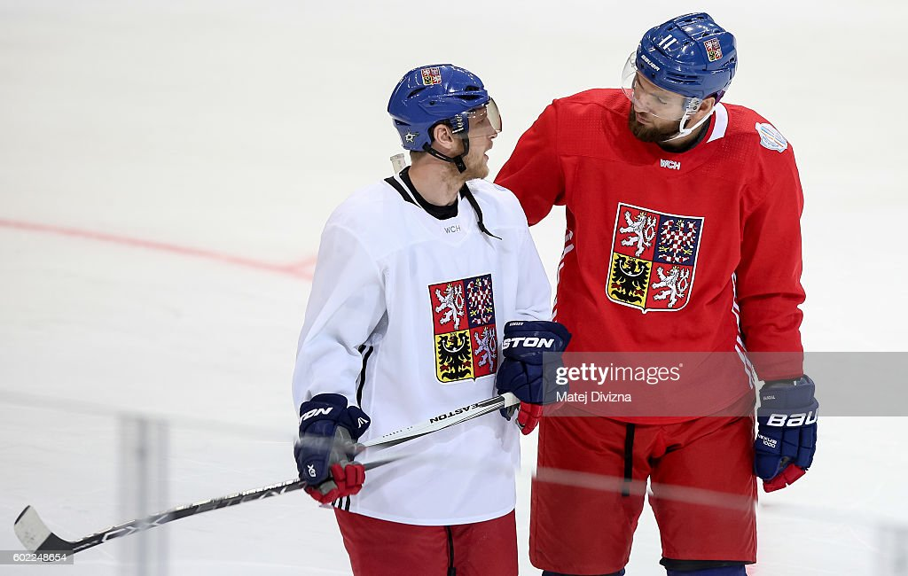 World Cup Of Hockey 2016 - Team Czech Republic - Practice & Press Interviews